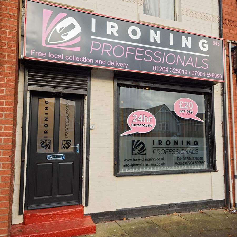 Bored of ironing? Contact Ironing Professionals now